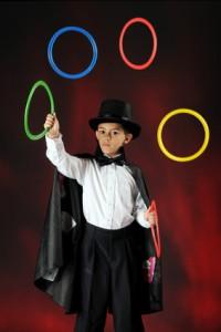 Juggling Magician